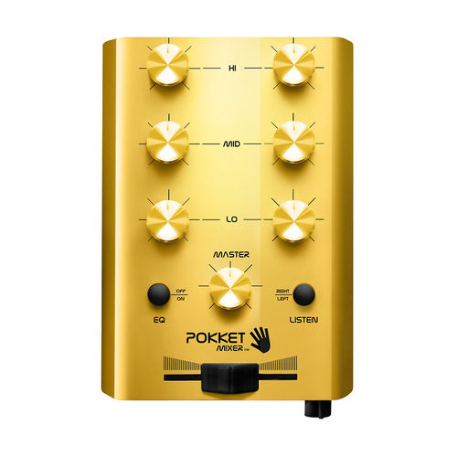 "Mini-DJ-Mixer ""Gold-Rush"""