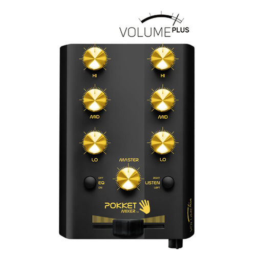 Mini-DJ-Mixer Volume PLUS