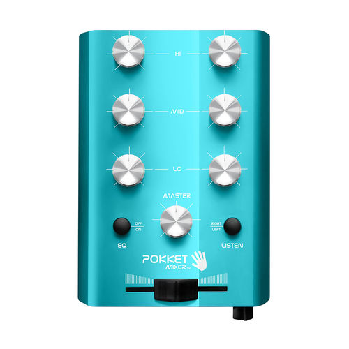 "Mini-DJ-Mixer ""Beach-Blue"""